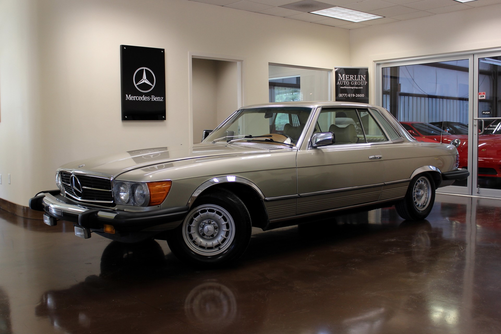 Used 1976 Mercedes-Benz 450 SLC stock P2778 - Ultra Luxury Car from