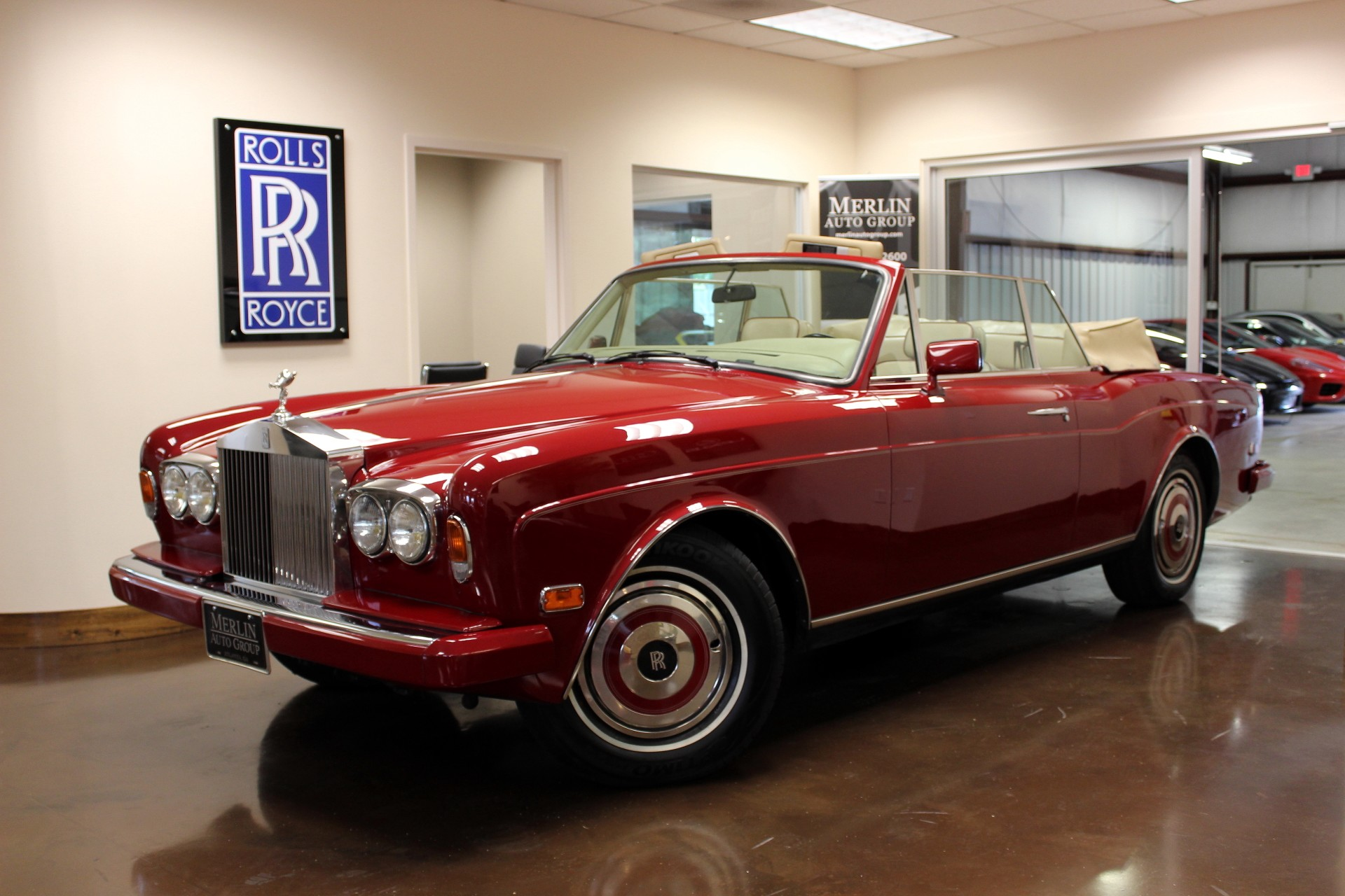 Sell Used Tires >> Used 1987 Rolls-Royce Corniche II stock P2765 - Ultra Luxury Car from Merlin Auto Group