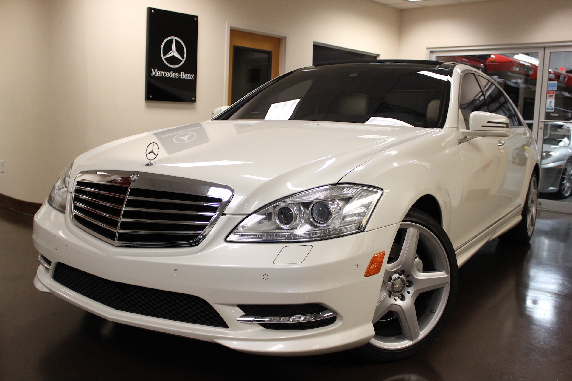 used 2013 mercedes benz s class stock p4140a ultra luxury car from merlin auto group. Black Bedroom Furniture Sets. Home Design Ideas