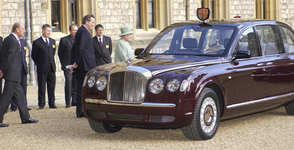 Bentley State Limousine: Fit for a Queen