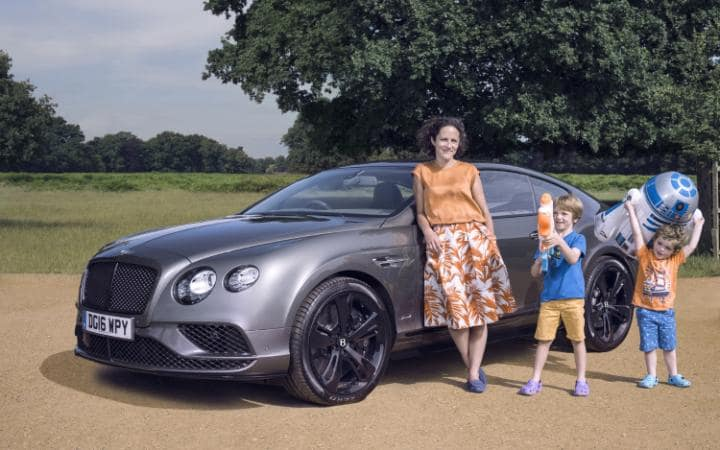 Bentley Continental GT Flying Spur Models Fit for a Family