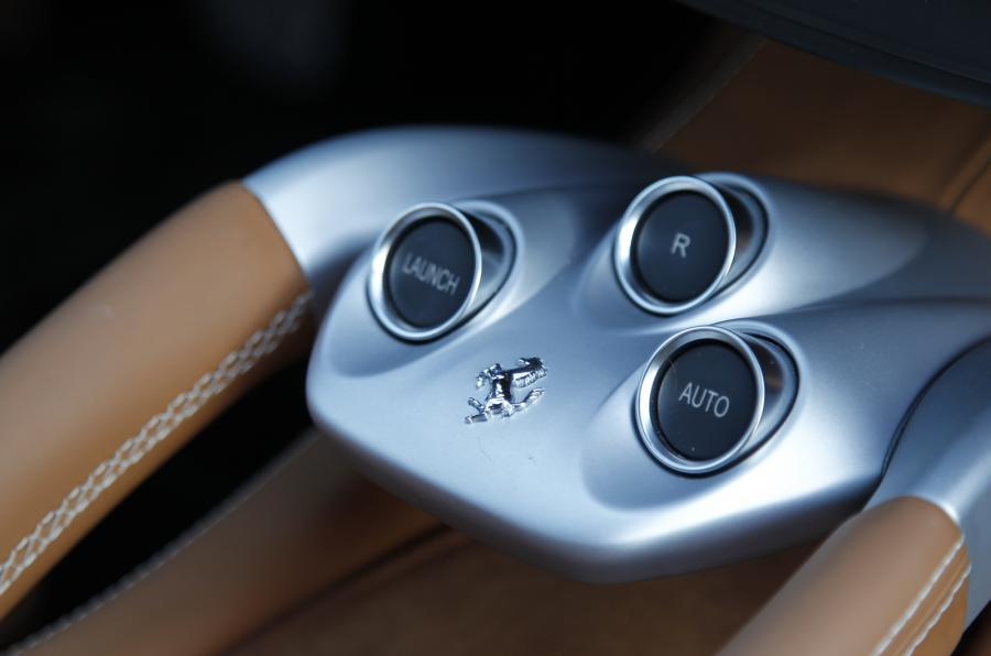 Ferrari Sticky Buttons and Shrinking Leather
