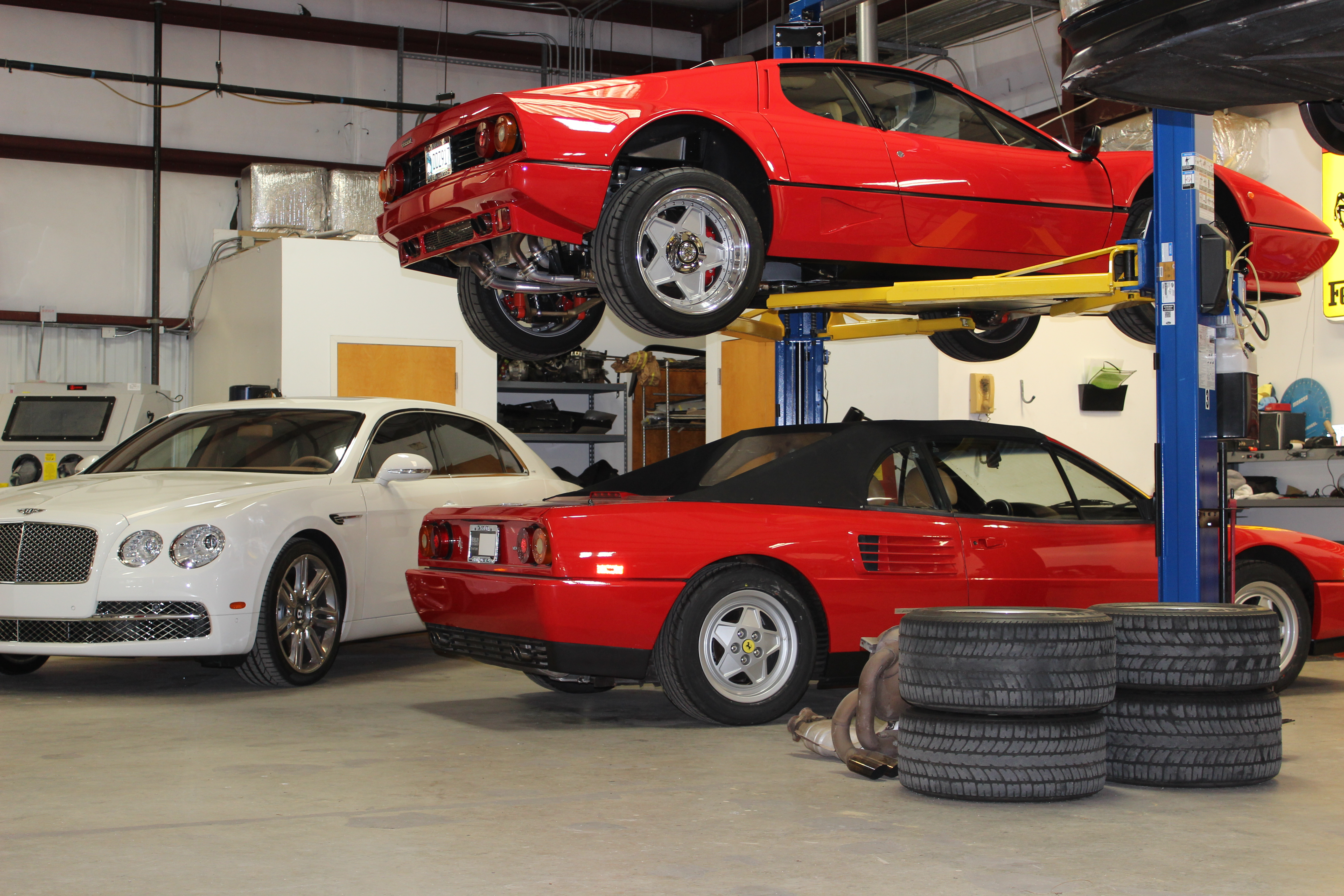 Ferrari Services Reduced Over The Years As Models Evolve